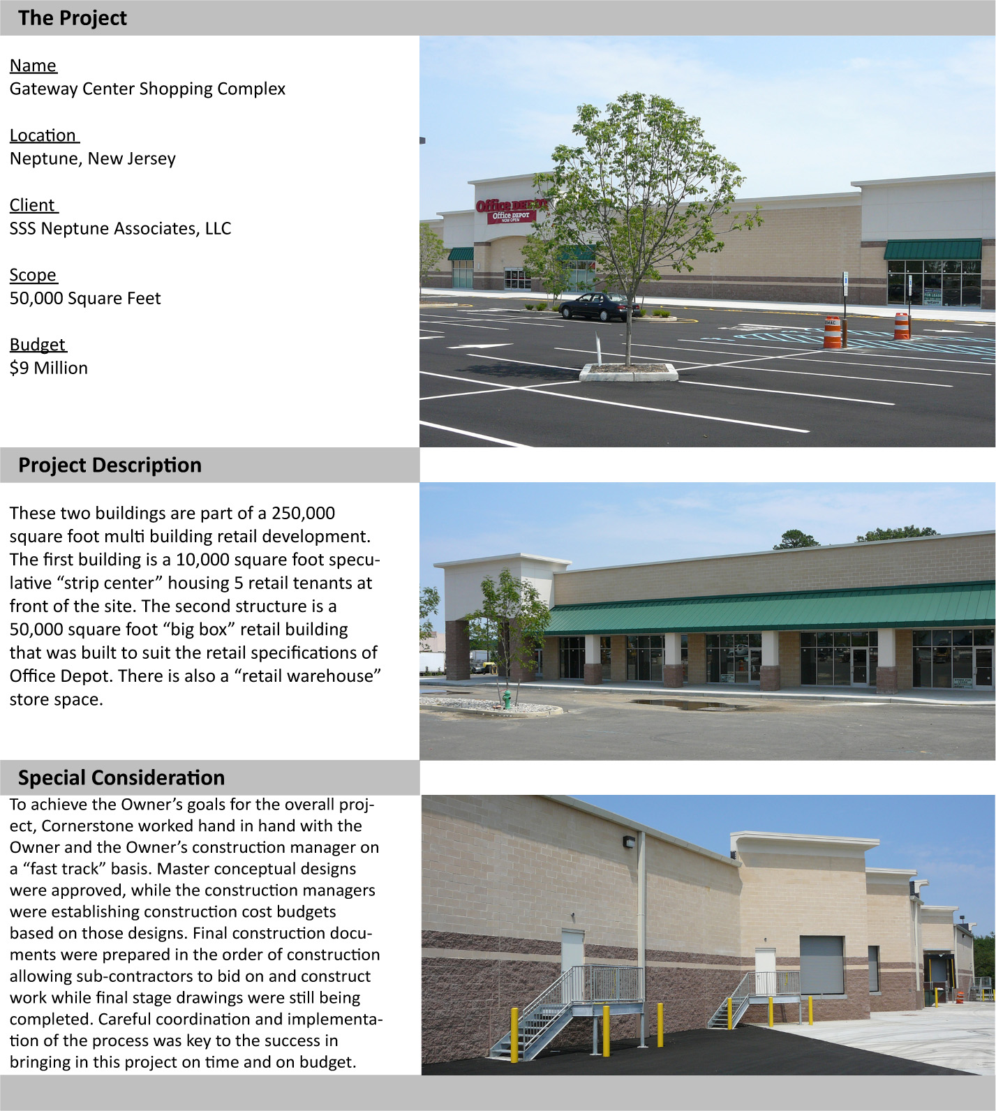 Aaa Car Care And Travel Center Cornerstone Architectural