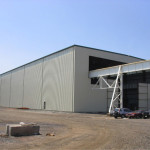 Harris Steel Crane Enclosure